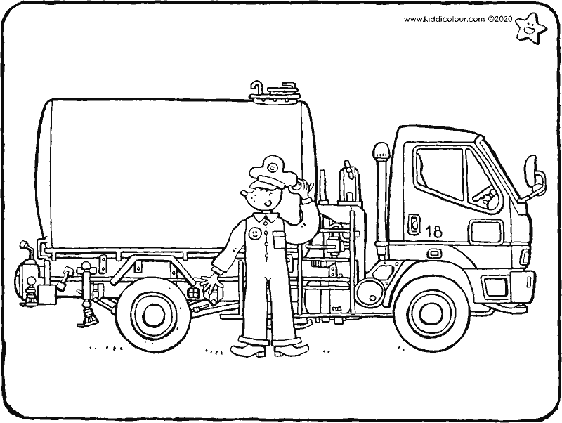 Voiture Colouring Pages Kiddicoloriage